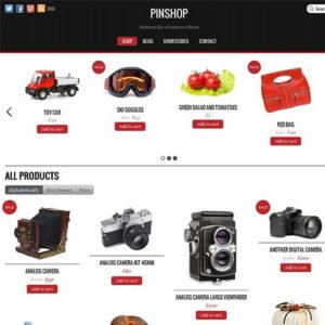 Sale! Buy Discount Themify Pinshop WooCommerce Theme - Cheap Discount Price
