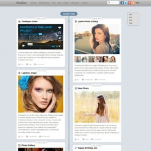Sale! Buy Discount Themify Postline WordPress Theme - Cheap Discount Price