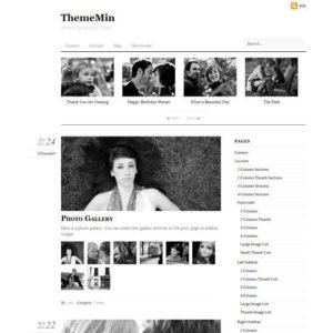 Sale! Buy Discount Themify Thememin WordPress Theme - Cheap Discount Price