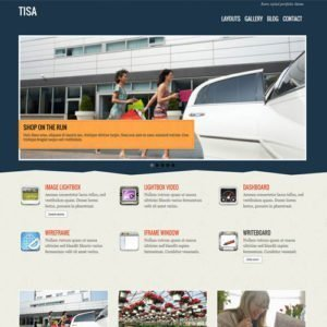 Sale! Buy Discount Themify Tisa WordPress Theme - Cheap Discount Price