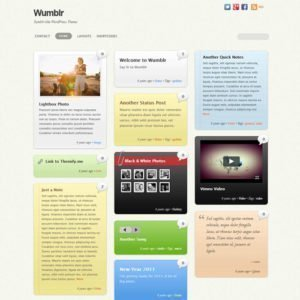 Sale! Buy Discount Themify Wumblr WordPress Theme - Cheap Discount Price