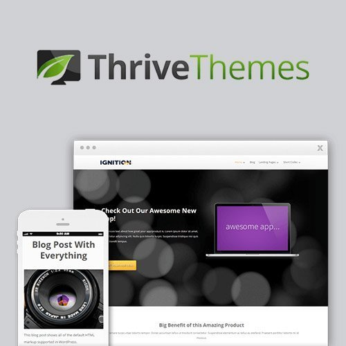 Sale! Buy Discount Thrive Themes Ignition WordPress Theme - Cheap Discount Price