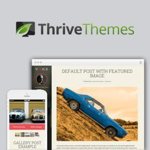 Sale! Buy Discount Thrive Themes Voice WordPress Theme - Cheap Discount Price