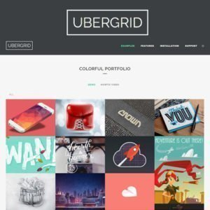 Sale! Buy Discount UberGrid – responsive grid builder for WordPress - Cheap Discount Price
