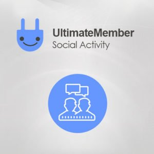 Sale! Buy Discount Ultimate Member Social Activity Addon - Cheap Discount Price