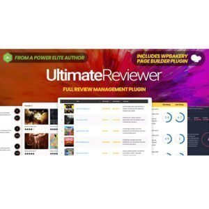 Sale! Buy Discount Ultimate Reviewer WordPress Plugin For WPBakery Page Builder - Cheap Discount Price