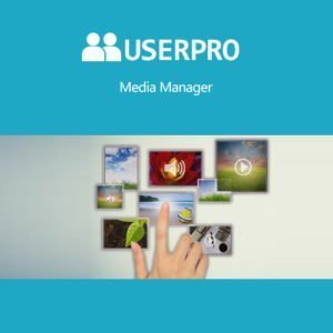 Sale! Buy Discount UserPro – Media Manager Add-on - Cheap Discount Price