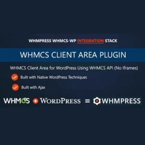 Sale! Buy Discount WHMPress – WHMCS Client Area for WordPress - Cheap Discount Price