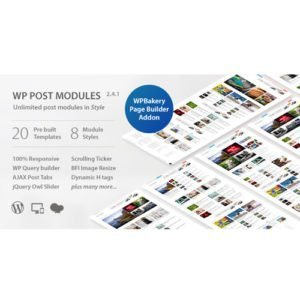 Sale! Buy Discount WP Post Modules for NewsPaper and Magazine Layouts - Cheap Discount Price