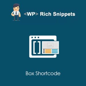 Sale! Buy Discount WP Rich Snippets Box Shortcode - Cheap Discount Price