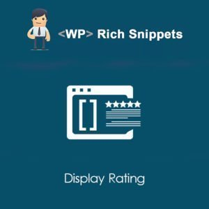 Sale! Buy Discount WP Rich Snippets Display Rating - Cheap Discount Price