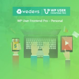 Sale! Buy Discount WP User Frontend Pro – Personal - Cheap Discount Price