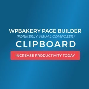 Sale! Buy Discount WPBakery Page Builder (Visual Composer) Clipboard - Cheap Discount Price