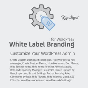 Sale! Buy Discount White Label Branding for WordPress - Cheap Discount Price