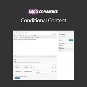 Sale! Buy Discount WooCommerce Conditional Content - Cheap Discount Price
