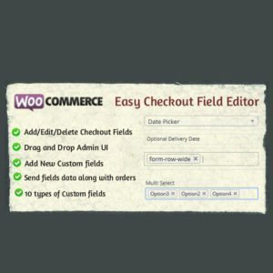 Sale! Buy Discount WooCommerce Easy Checkout Field Editor - Cheap Discount Price