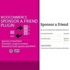 Sale! Buy Discount WooCommerce Sponsor a Friend Plugin - Cheap Discount Price