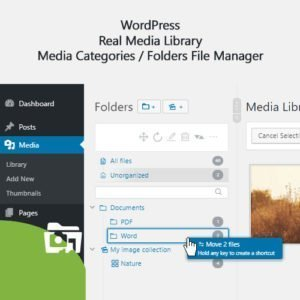 Sale! Buy Discount WordPress Real Media Library – Media Categories / Folders File Manager - Cheap Discount Price