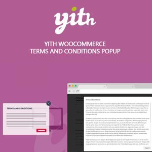 Sale! Buy Discount YITH WooCommerce Terms and Conditions Popup Premium - Cheap Discount Price