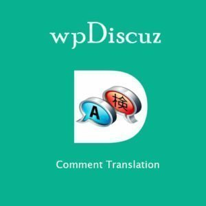 Sale! Buy Discount wpDiscuz – Comment Translation - Cheap Discount Price