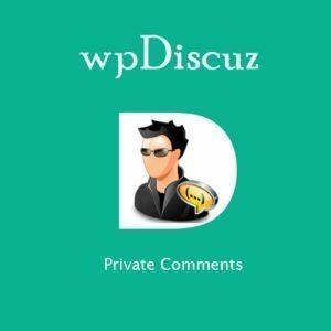Sale! Buy Discount wpDiscuz – Private Comments - Cheap Discount Price