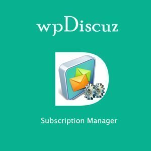 Sale! Buy Discount wpDiscuz – Subscription Manager - Cheap Discount Price