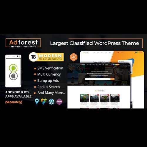 Sale! Buy Discount AdForest – Classified Ads WordPress Theme - Cheap Discount Price