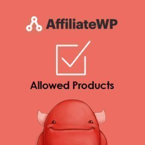 Sale! Buy Discount AffiliateWP – Allowed Products - Cheap Discount Price