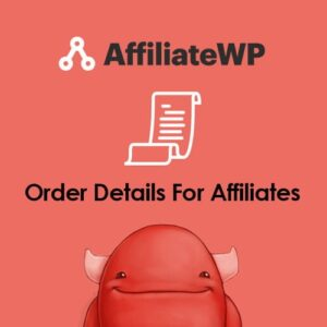 Sale! Buy Discount AffiliateWP – Order Details For Affiliates - Cheap Discount Price