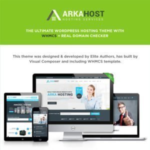 Sale! Buy Discount Arka Host – WHMCS Hosting, Shop & Corporate Theme - Cheap Discount Price