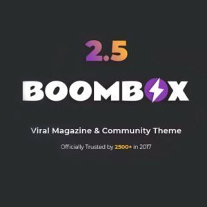 Sale! Buy Discount BoomBox – Viral Magazine WordPress Theme - Cheap Discount Price