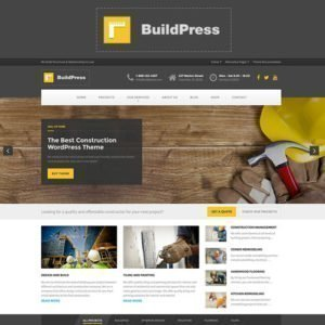 Sale! Buy Discount BuildPress – Multi-purpose Construction and Landscape WP Theme - Cheap Discount Price