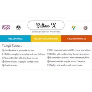 Sale! Buy Discount Buttons X – Powerful Button Builder for WordPress - Cheap Discount Price