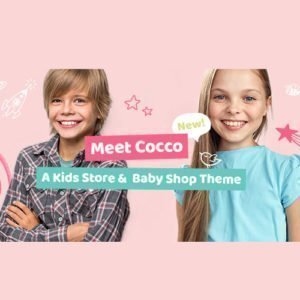 Sale! Buy Discount Cocco – Kids Store and Baby Shop Theme - Cheap Discount Price