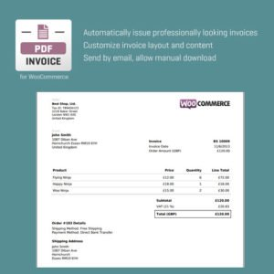 Sale! Buy Discount CodeCanyon WooCommerce PDF Invoice - Cheap Discount Price