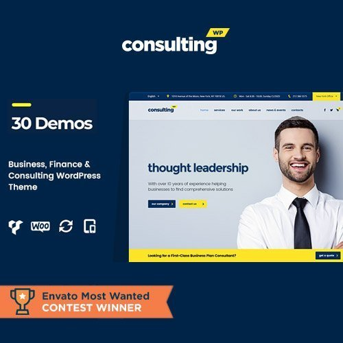 Sale! Buy Discount Consulting – Business Finance WordPress Theme - Cheap Discount Price