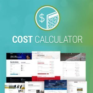 Sale! Buy Discount Cost Calculator by BoldThemes - Cheap Discount Price