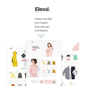 Sale! Buy Discount Elessi – WooCommerce AJAX WordPress Theme – RTL support - Cheap Discount Price