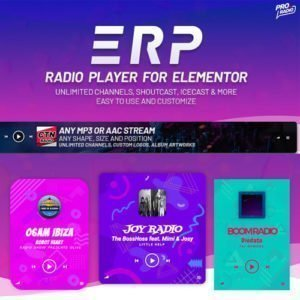 Sale! Buy Discount Erplayer – Radio Player for Elementor - Cheap Discount Price