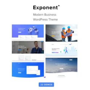 Sale! Buy Discount Exponent – Modern Multi-Purpose Business WordPress theme - Cheap Discount Price