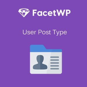 Sale! Buy Discount FacetWP – User Post Type - Cheap Discount Price