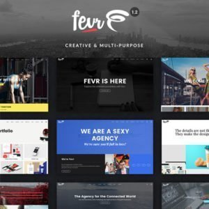 Sale! Buy Discount Fevr – Creative MultiPurpose Theme - Cheap Discount Price