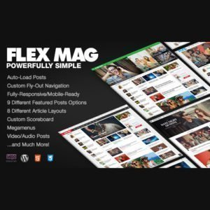 Sale! Buy Discount Flex Mag – Responsive WordPress News Theme - Cheap Discount Price