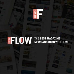 Sale! Buy Discount Flow News – Magazine and Blog WordPress Theme - Cheap Discount Price