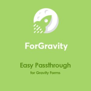 Sale! Buy Discount ForGravity – Easy Passthrough for Gravity Forms - Cheap Discount Price