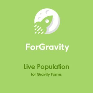 Sale! Buy Discount ForGravity – Live Population for Gravity Forms - Cheap Discount Price