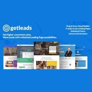 Sale! Buy Discount Getleads High-Performance Landing Page WordPress Theme - Cheap Discount Price