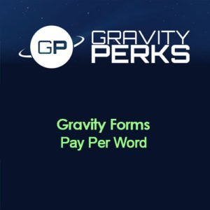 Sale! Buy Discount Gravity Perks – Gravity Forms Pay Per Word - Cheap Discount Price