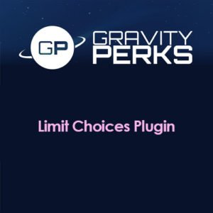Sale! Buy Discount Gravity Perks Limit Choices Plugin - Cheap Discount Price