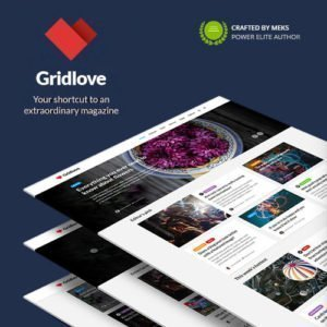 Sale! Buy Discount Gridlove – Creative Grid Style News & Magazine WordPress Theme - Cheap Discount Price